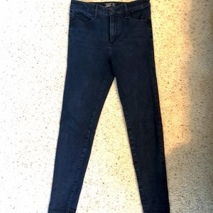 Abercrombie & Fitch high rise super skinny jeans